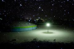 雪のタンク