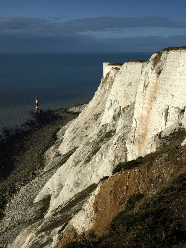 """Beachy head"", white cliff"