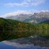 初秋の鏡池