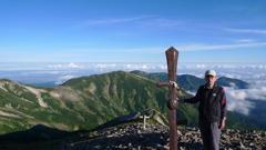 小蓮華山(2763m)