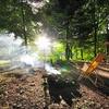 避暑キャンプ