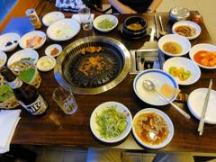 2日目夕食 焼肉