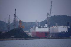 巌流島と造船所