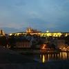 プラハ城夜景