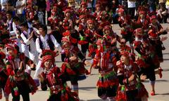 花腰イ族の踊り