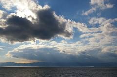 錦江湾の午後