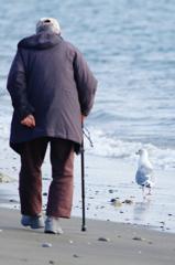 おじいさんと散歩