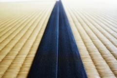 日本の直線。