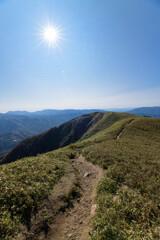 竜ヶ岳(三重)山頂付近10
