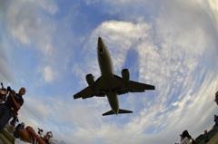 千里川飛行機1
