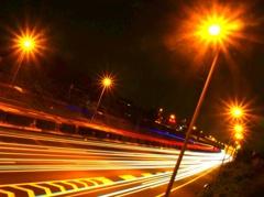 光る光る高速♫