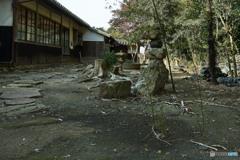 龍門寺裏庭(2)