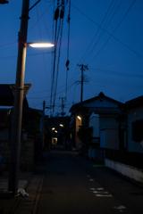 黄昏の裏町