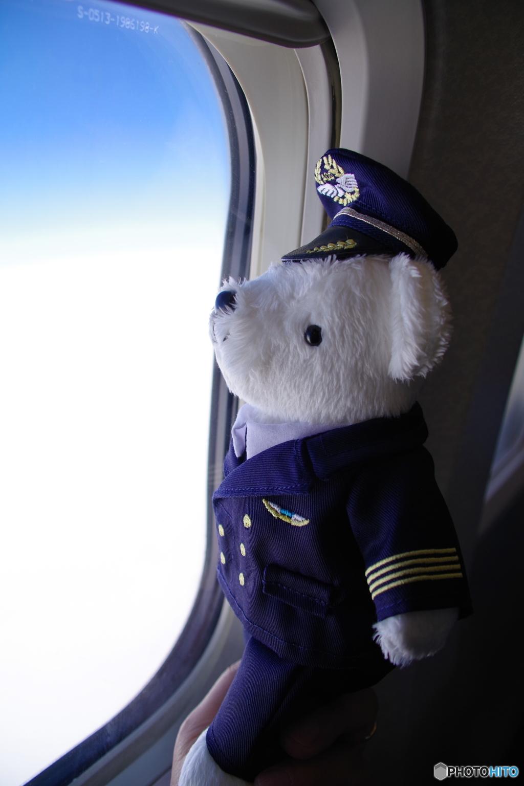 今日のフライトも快適ですよ!