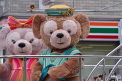 よさこいソーラン祭りにダッフィー、シェリーメイもやってきた!!!