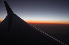夕日の沈む時