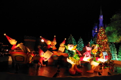 クリスマス・プレゼント ドナルドとデイジー