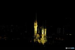 真夜中のシンデレラ城