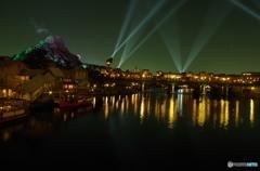 アメリカンウォーターフロント(ハドソン・リバー・ブリッジ)からの夜景 500枚目