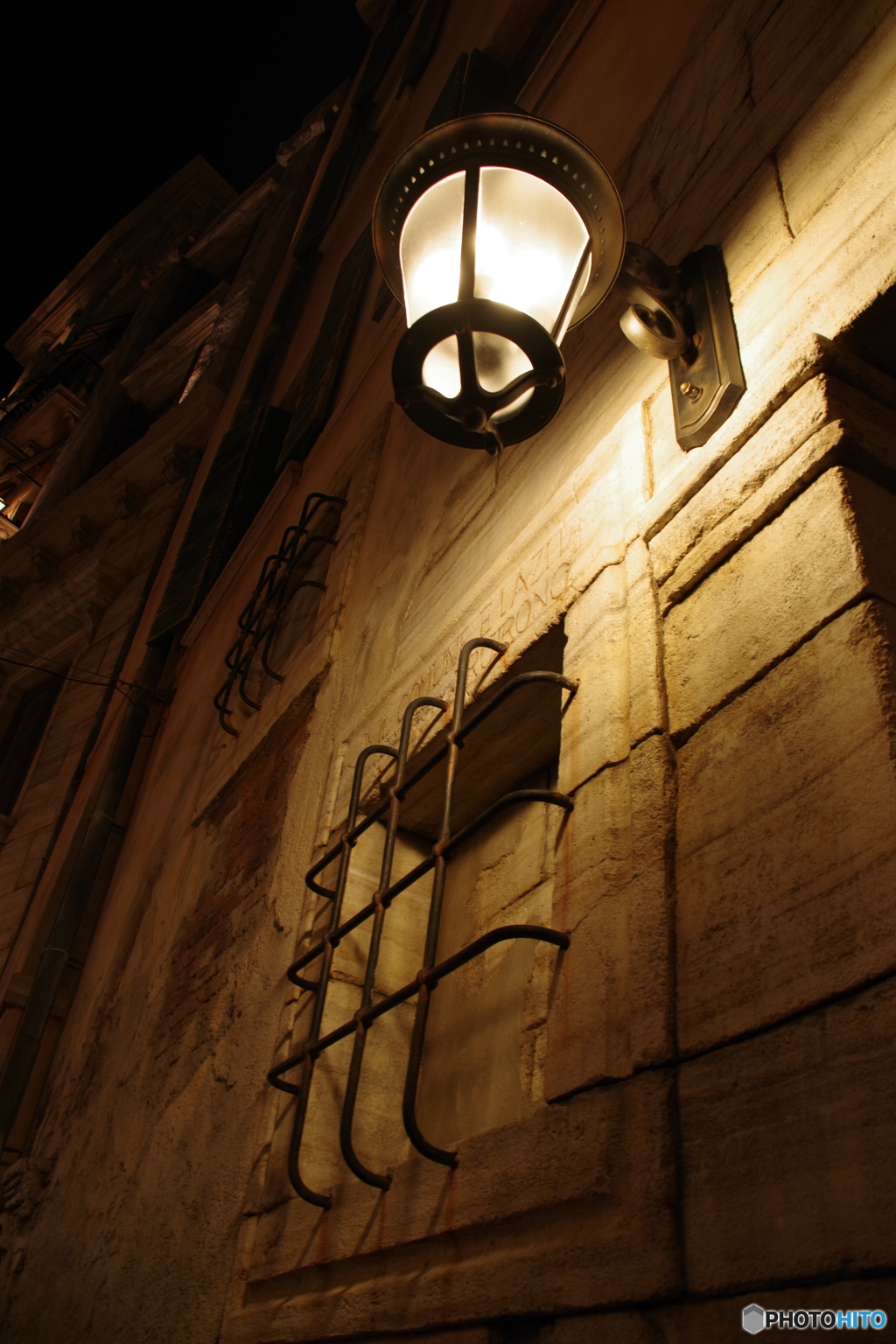 ヴェネツィアン・ゴンドラ 乗り場付近 夜景