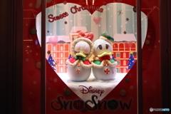 ディズニー・クリスマス スノースノーのドナルドとデイジー♡