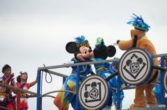 ディズニー夏祭り 可愛いKISS!