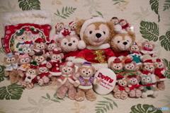 我が家のクリスマス ダッフィー・シェリーメイ・ジェラトーニ
