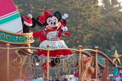 ディズニー・クリスマス・ストーリーズのミニーちゃん JUMP!