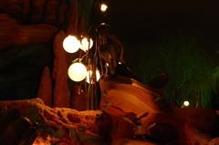 トリトンキングダムの夜 アリエルとセバスチャン