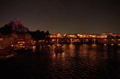 アメリカンウォーターフロント 夜景