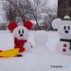 スノースノーの雪だるま作り!