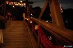 橋を渡って、ロストリバーデルタへ