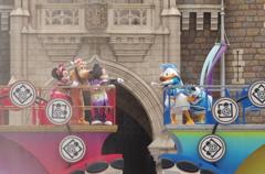 ミッキーとドナルドの水遊び!