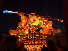 日田のお祭りに弘前から強力な助っ人が来てくれていました