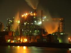 北九州工場夜景 日鉄ケミカル