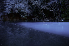 The pond which freezes…2