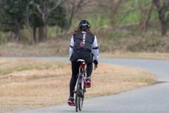 快走‥冬のサイクリングロード