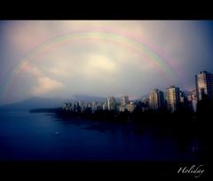 虹を追って