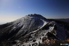初冬の那須茶臼岳