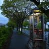仕事帰りの風景(②夕ぐれの電話ボックス)