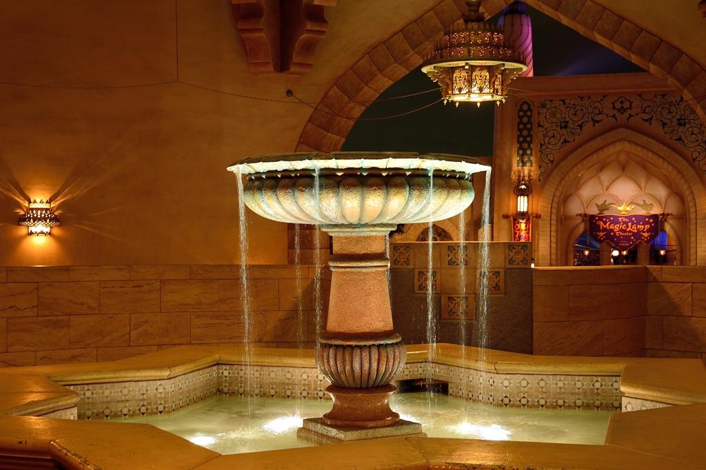 Fountain at Tokyo Disney Sea