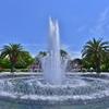 「薔薇園の噴水」