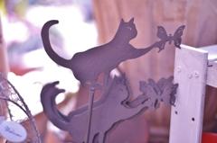 「雑貨屋さんで見つけた猫」 ~ポストカード・ギャラリー~