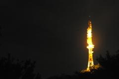 タワーの光