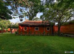 台南 孔子廟の裏庭