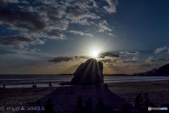 稲佐の浜(出雲)