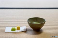 サムライの侘び茶