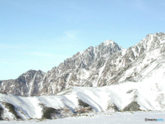冠雪の剱岳