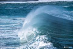 波のベール