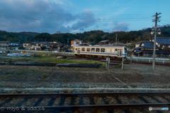 ある日の三江線 ワンマンカー